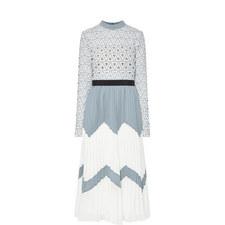 Triangle Lace Dress