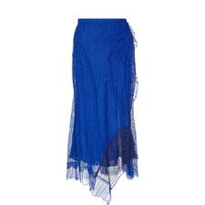 Lace Sheath Skirt