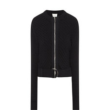 Knitted Zip-Through Jacket