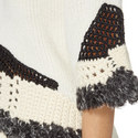 Crew Neck Knitted Sweater, ${color}