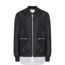 Relaxed Bomber Jacket