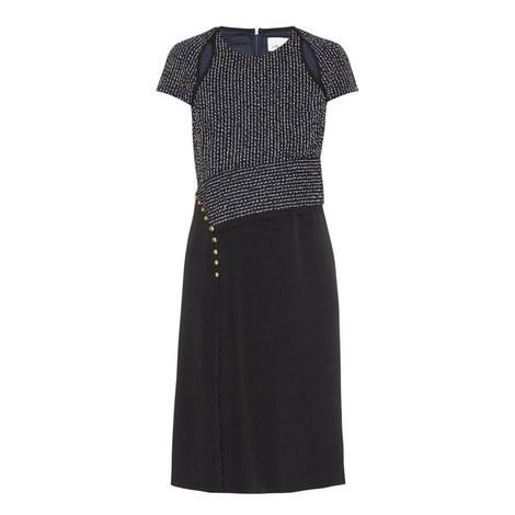 Cap Sleeve Dress, ${color}