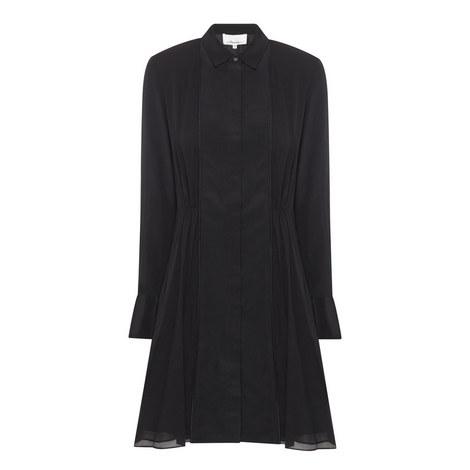 Silk Shirt Dress, ${color}