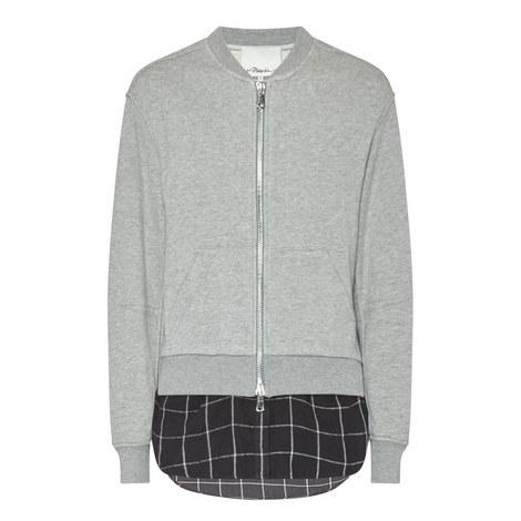 Shirt Detail Bomber Jacket, ${color}