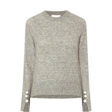 Pearl Cuff Sweater