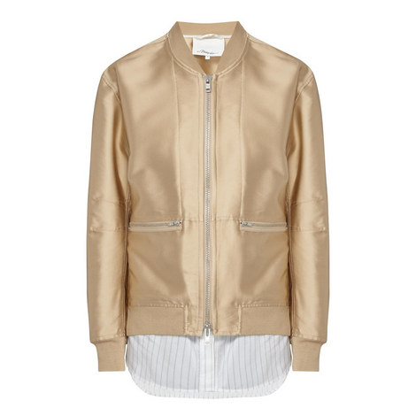 Relaxed Bomber Jacket, ${color}
