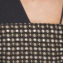 Crystal Embellished Wide Strap Dress, ${color}