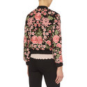 Floral Embroidered Bomber Jacket, ${color}