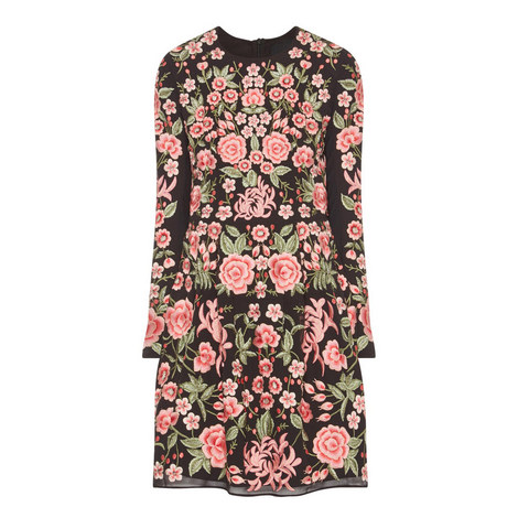 Floral Embroidery Dress, ${color}