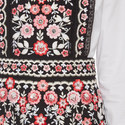 Prairie Embroidery Bib Dress, ${color}