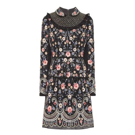 Whisper Floral Prom Dress, ${color}