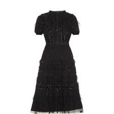 Jet Frill Dress