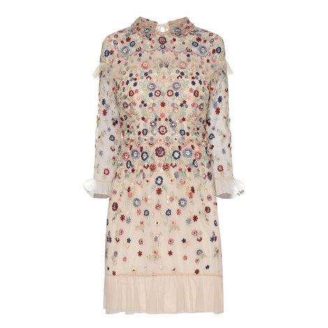 Posy Embroidered Dress, ${color}