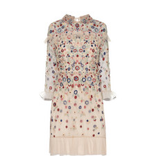 Posy Embroidered Dress