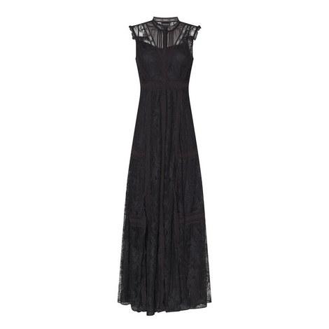 Lace Insert Dress, ${color}