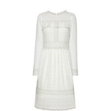 Panelled Lace Dress