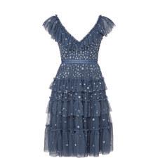 Sunburst Midi Dress