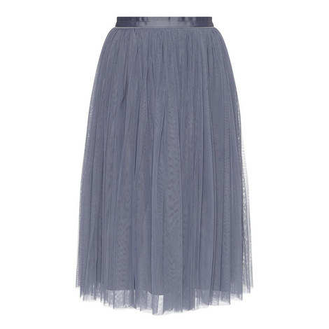 Tulle Short Skirt, ${color}