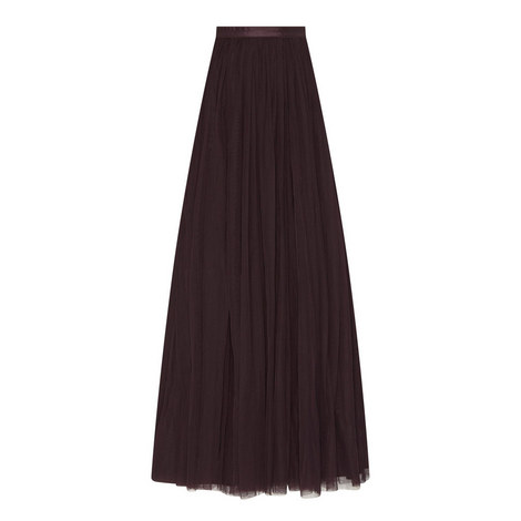 Tulle Maxi Skirt, ${color}