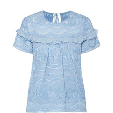 Anglaise Georgette Top