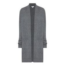 Longline Wool Mix Cardigan