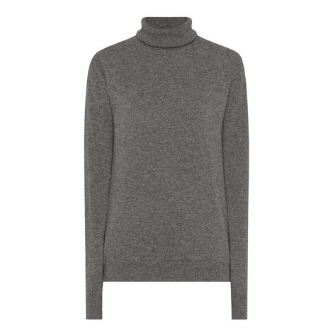 Cashmere Polo Neck Sweater, ${color}