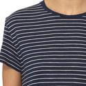 Stripe Print T-Shirt, ${color}