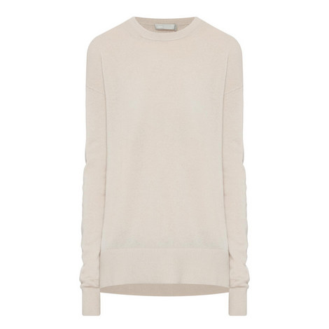 Relaxed Cashmere Sweater, ${color}