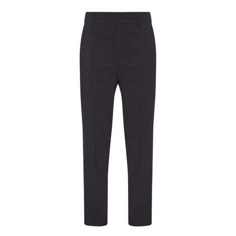 Tailored Cropped Trousers, ${color}