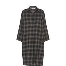 Plaid Pullover Dress