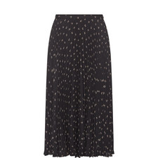 Ditsy Floral Pleated Skirt