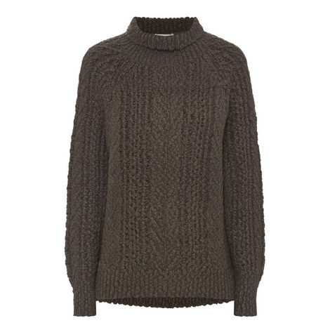 Thick Cableknit Sweater, ${color}