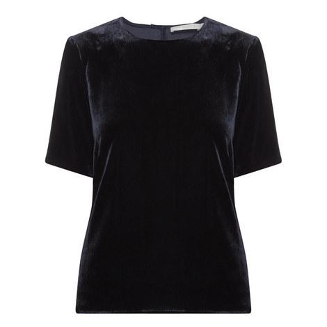 Velvet Short Sleeve T-Shirt, ${color}