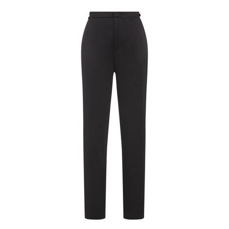High Waist Relaxed Fit Trousers, ${color}