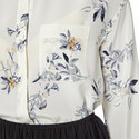 Silk Floral Blouse, ${color}