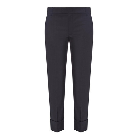Cuffed Coin Pocket Trousers, ${color}