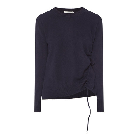Cinched Side Sweater, ${color}