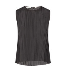Pleated Shell Top