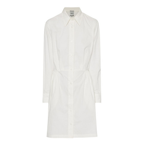 Chambray Shirt Dress, ${color}