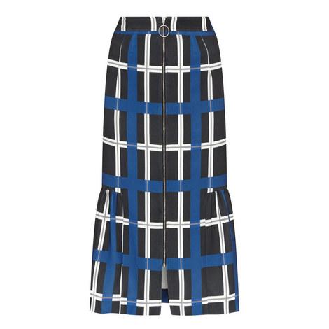 Check Midi Skirt, ${color}