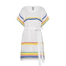 Fiesta Wavy Trim Dress