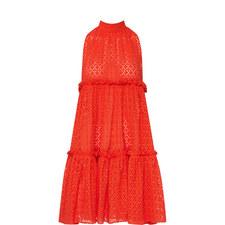 Mini Ruffle Tier Dress
