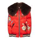 Wolf Souvenir Puffa Jacket, ${color}