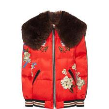 Wolf Souvenir Puffa Jacket