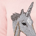 Unicorn Intarsia Sweater , ${color}