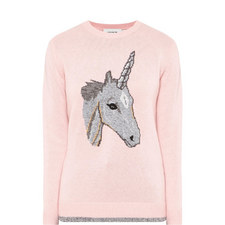 Unicorn Intarsia Sweater