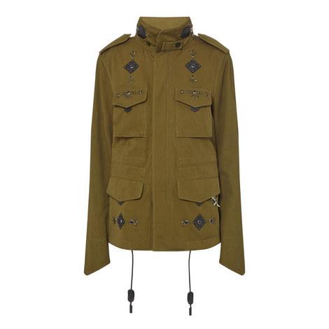 Embellished M-65 Jacket, ${color}