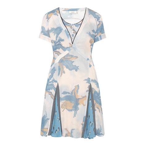 Dreamy Printed Dress, ${color}