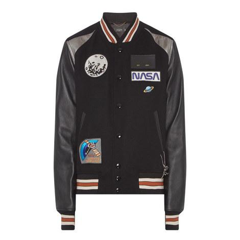 Space Appliqué Varsity Jacket, ${color}