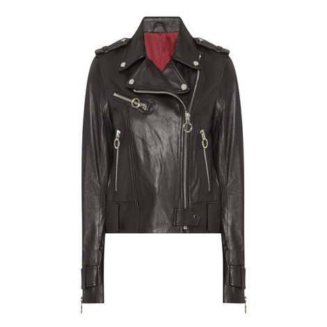 Leather Biker Jacket, ${color}
